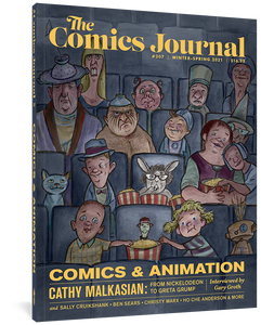 The Comics Journal #307 cover image