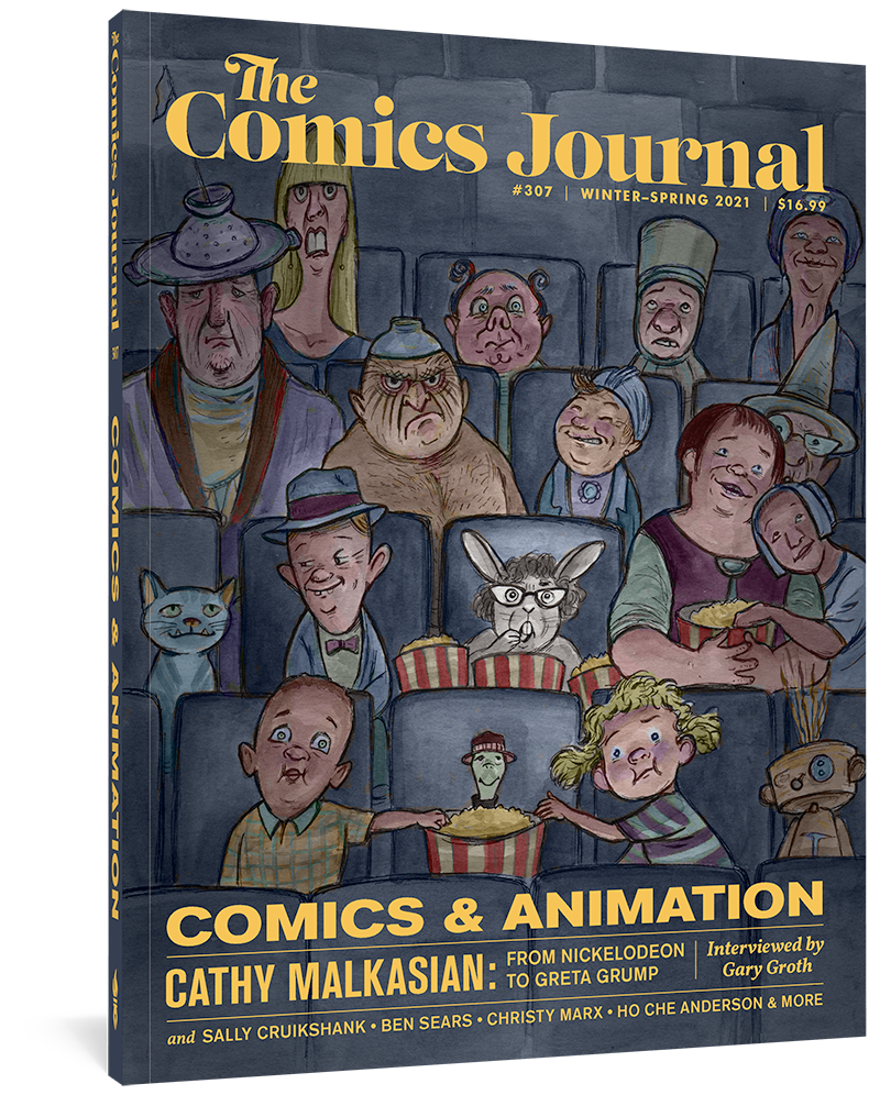 The Comics Journal #307