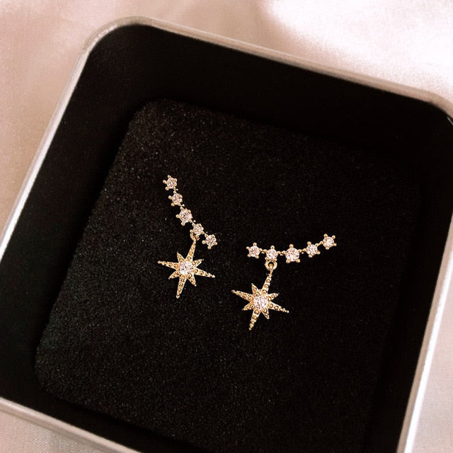 Delicate Star Earrings