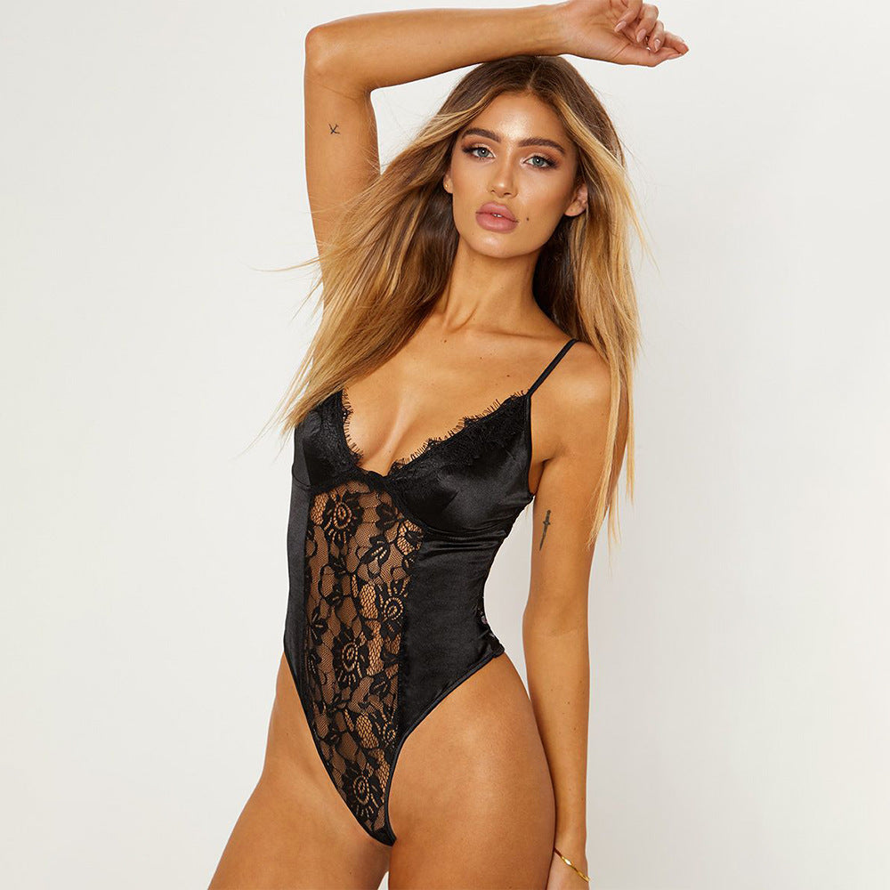 Silk Satin Bodysuit
