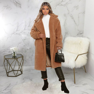Casual Loose Teddy Coat