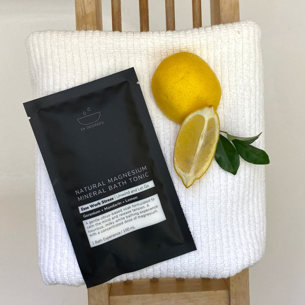 EASE WORK STRESS Magnesium Bath Tonic