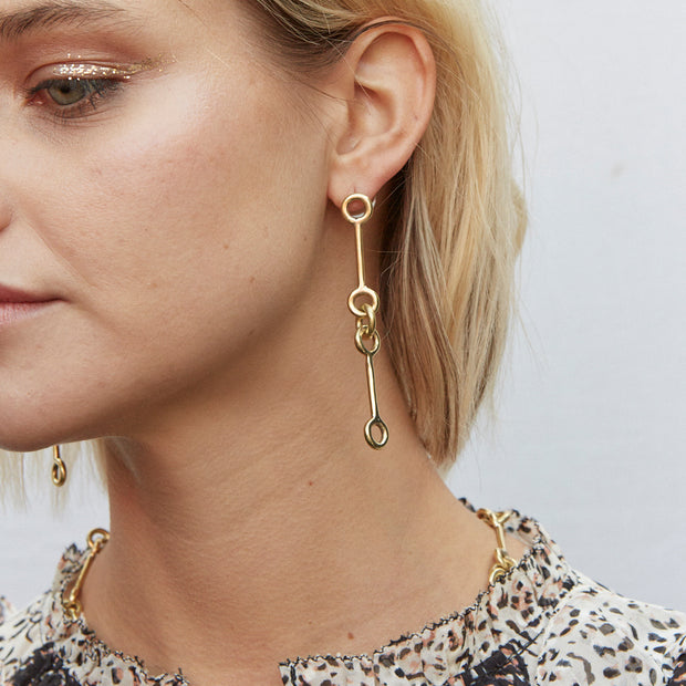Code Drop Earrings