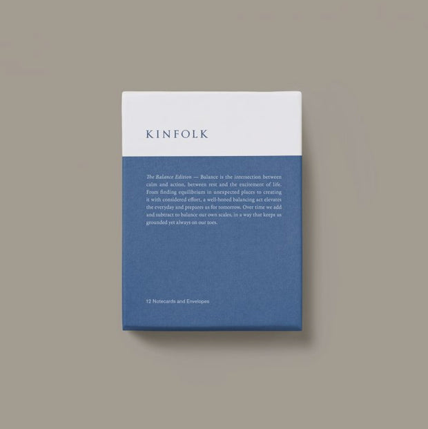 Kinfolk Notecard Collection - The Balance Edition