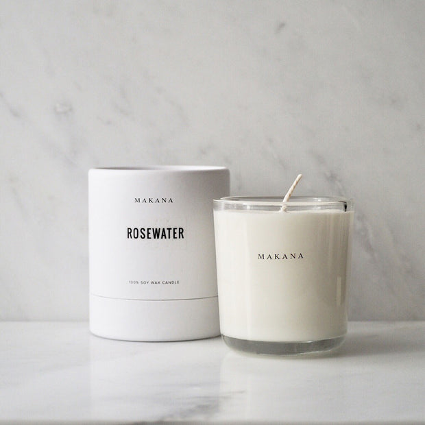 Rosewater - Classic Candle