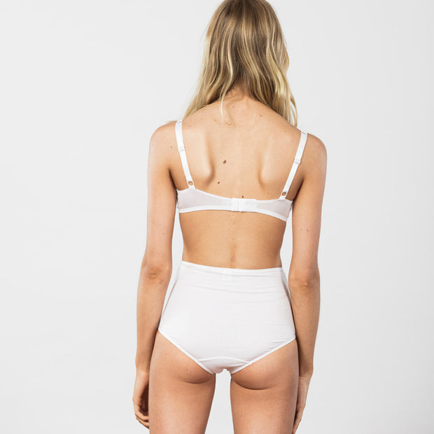 Triangle Bra White