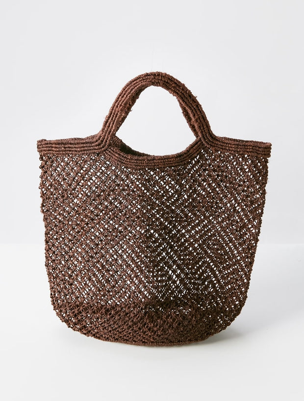Hand Woven Jute - Natural Brown