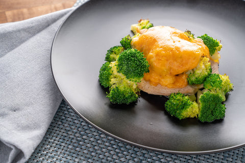 KETO  Cheesy Chicken and Broccoli - Scratch Food