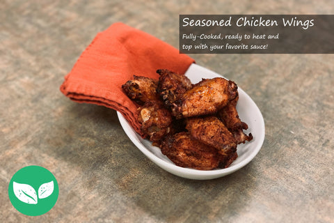 Seasoned Chicken Wings - Scratch Food