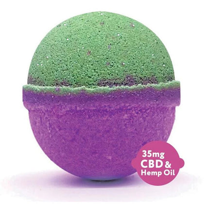 Fresh Bombs Bath Bomb 35mg - Peace & Love (5oz )