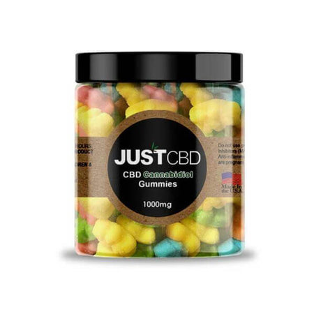 Just CBD Sour Bears Gummies