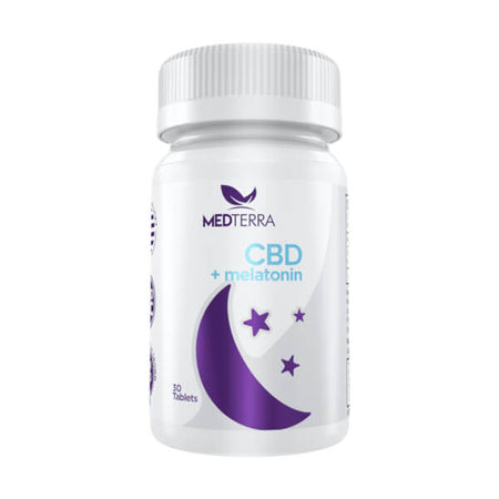Medterra CBD GOOD NIGHT CBD plus Melatonin Tablet 30ct
