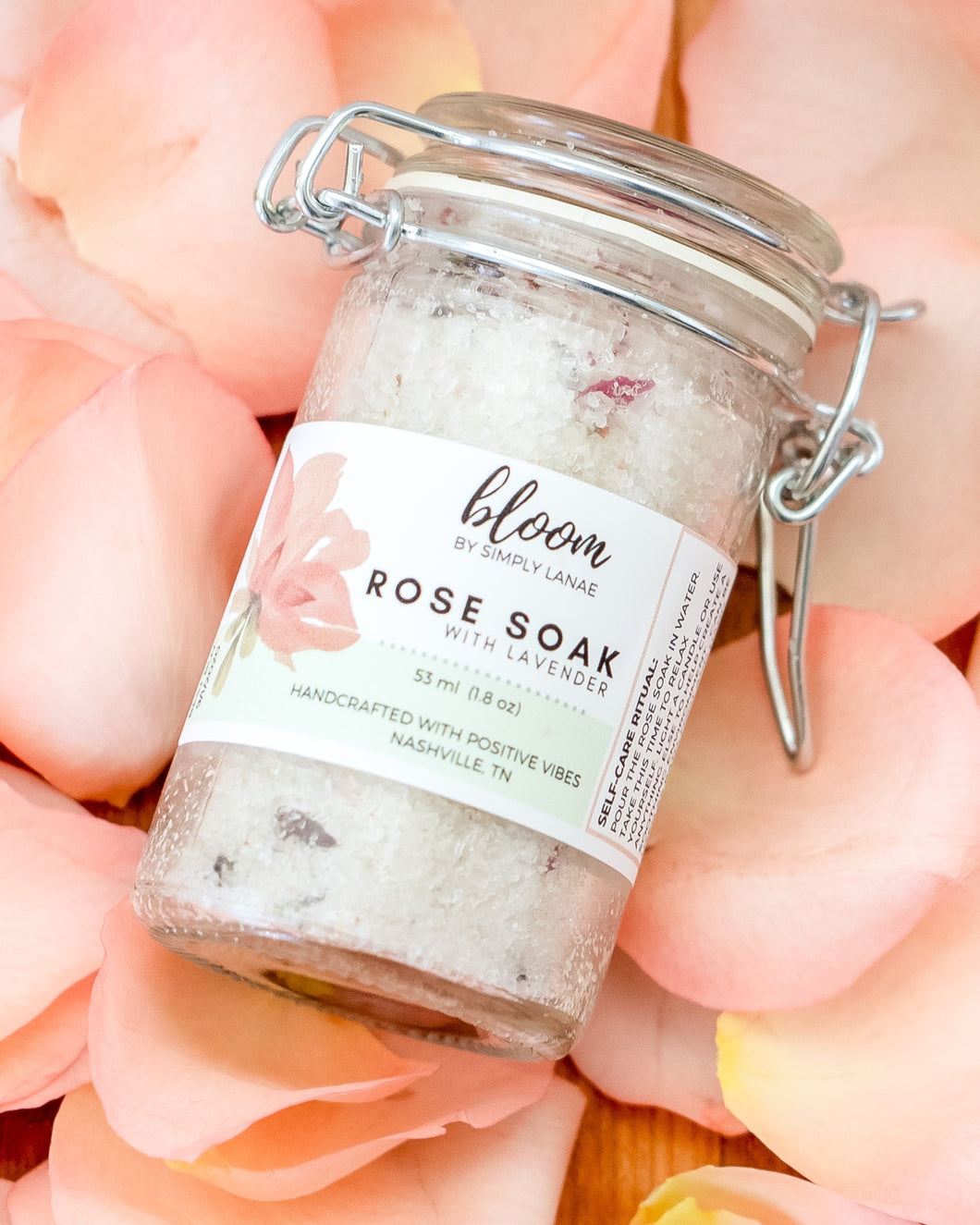 Rose Soak with Lavender