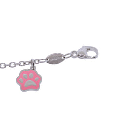 BFF Paw Sterling Silver Charm Bracelet
