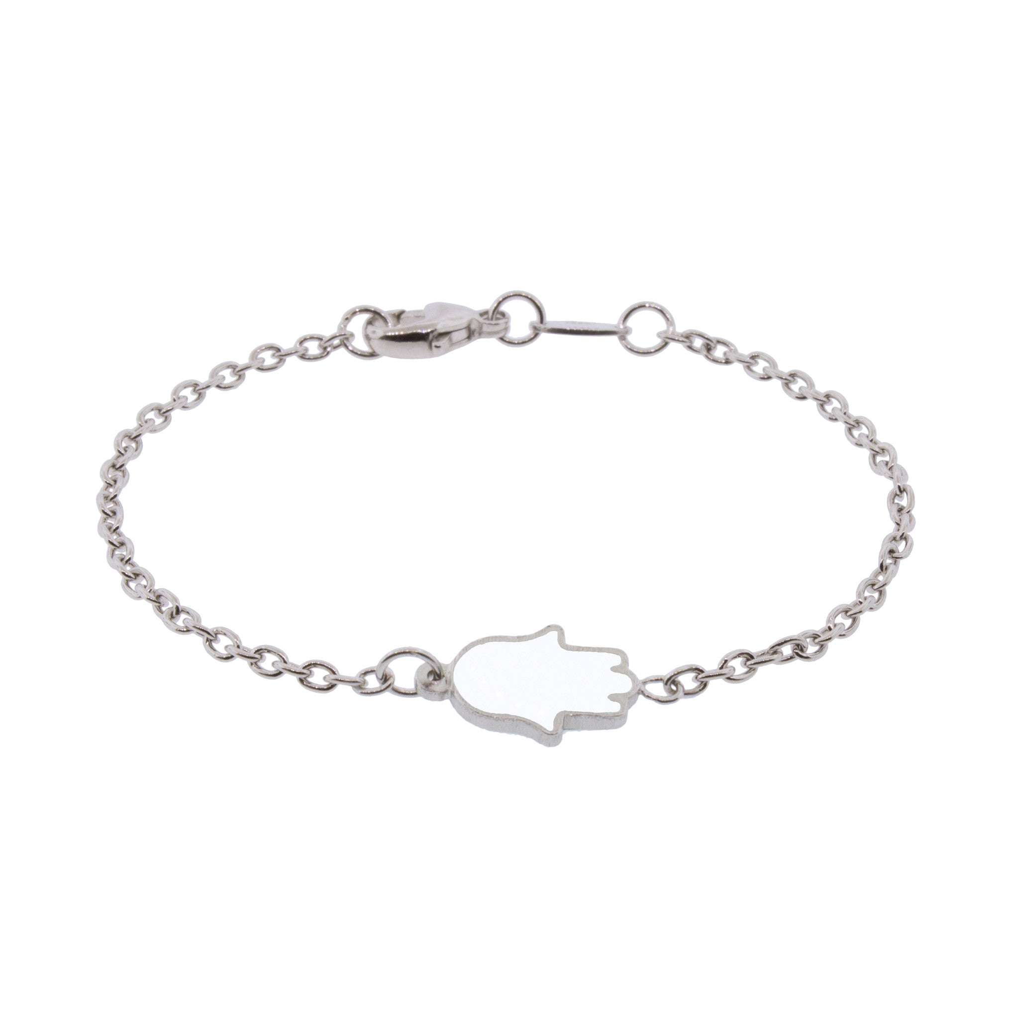 Touch of Luck Sterling Silver Pendant Bracelet