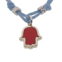 Touch of Luck Pendant Bracelet - Baby Blue