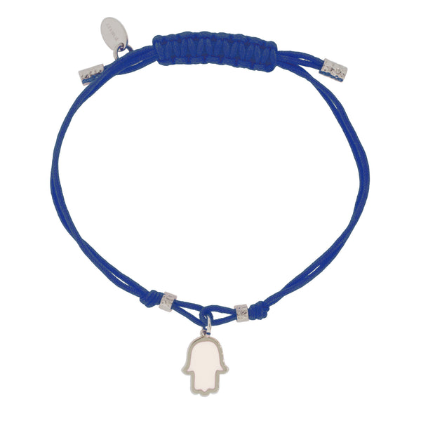Touch of Luck Pendant Bracelet - Cobalt Blue