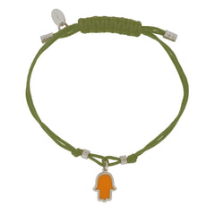 Touch of Luck Pendant Bracelet - Army Green