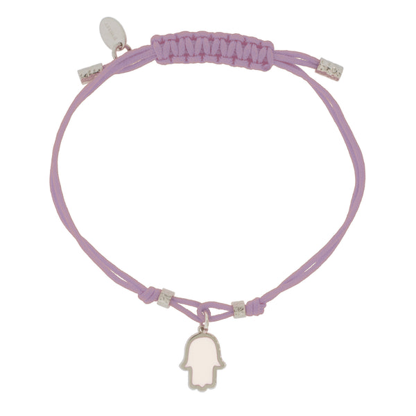 Touch of Luck Pendant Bracelet - Lavender