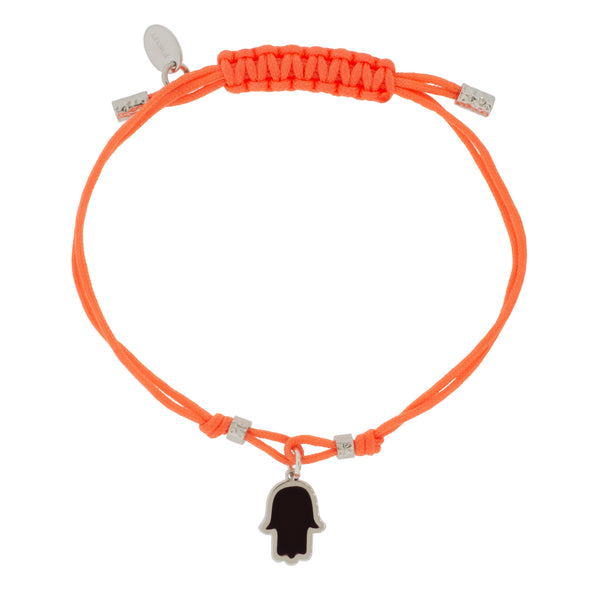 Touch of Luck Pendant Bracelet - Orange