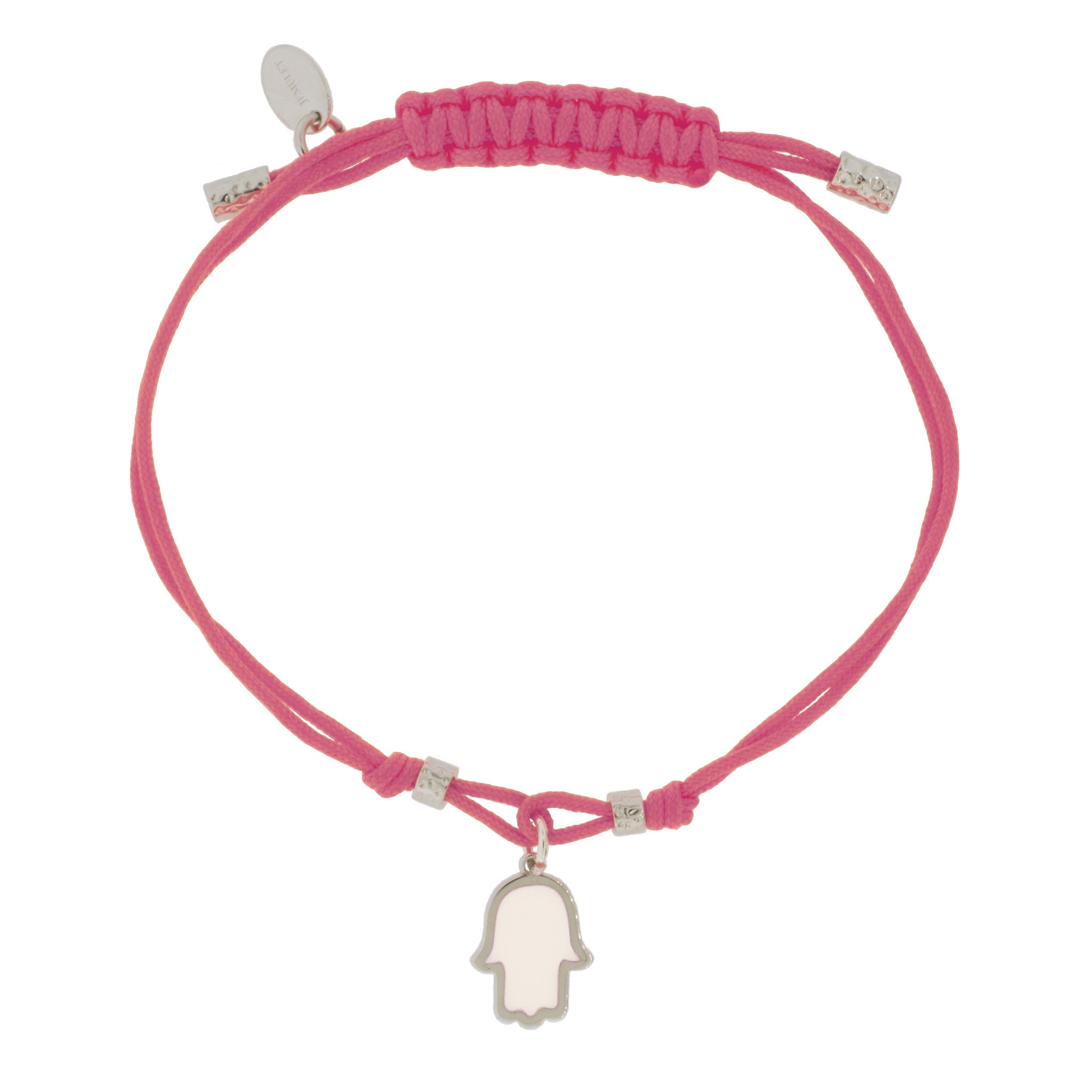 Touch of Luck Pendant Bracelet - Pink