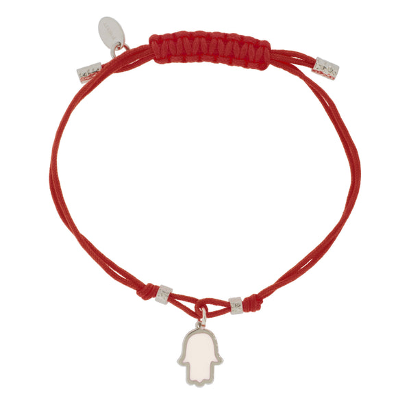 Touch of Luck Pendant Bracelet - Red