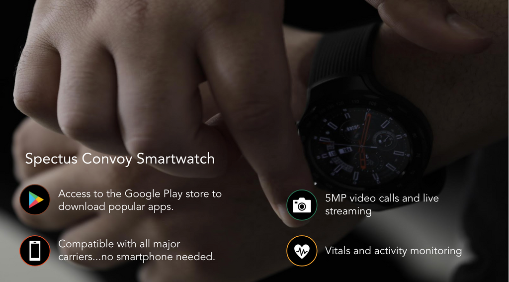 Spectus Convoy offers everything the Apple watch can, and does it at a much lower price