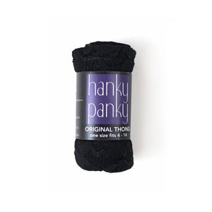 Hanky Panky - Original Thong - Black