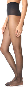 Spanx - Tummy Shaping Sheers Tights - Very Black