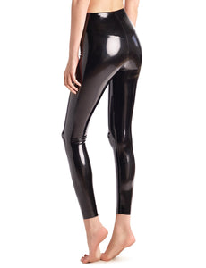 Commando - Faux Patent Legging in Black