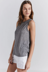 Current/Elliott - The Muscle Tank in Heather Grey