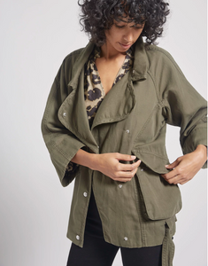 Current/Elliott - Reny Infantry Jacket - Loden Green
