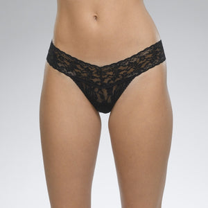 Hanky Panky - Signature Lace Low Rise Thong in Black