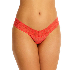 Hanky Panky - Signature Lace Low Rise Thong in Ripe Watermelon