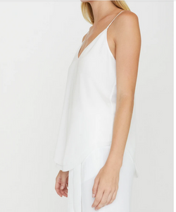 Brochu Walker - Luna Cami in Salt White