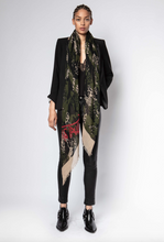 Load image into Gallery viewer, Zadig & Voltaire - Delta Camou Leo Scarf Wrap - Sable