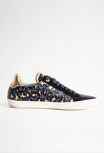 "Load image into Gallery viewer, Zadig & Voltaire - Zadig ""Used"" Meta Sneakers - Navy"