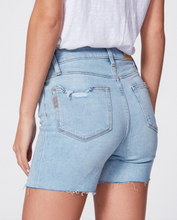 Load image into Gallery viewer, Paige - Sarah Longline Short w/ Raw Hem - Coltraine Distressed