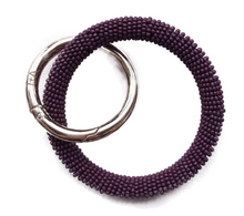 Load image into Gallery viewer, INK + ALLOY - Seed Bead Bangle/Key Ring
