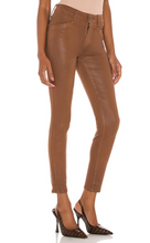Load image into Gallery viewer, Paige - Hoxton Ankle Joxxie Pockets Jean - Cognac Luxe Coating