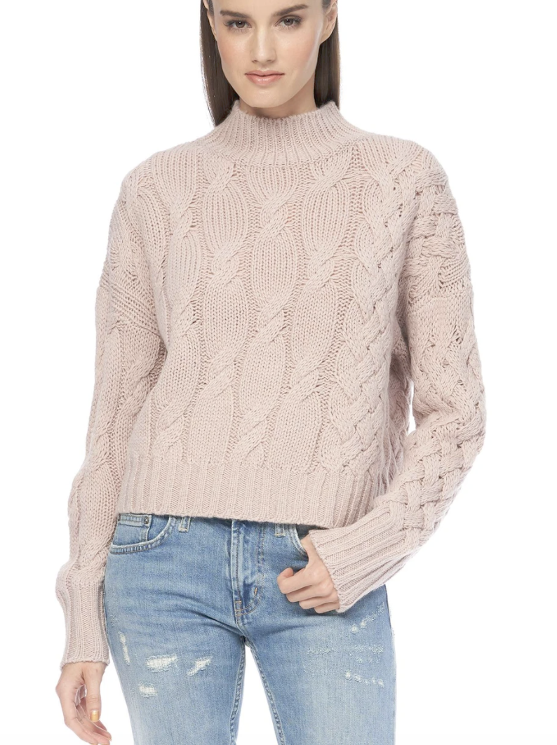 360Cashmere - Elyse Sweater - Rose Dusk