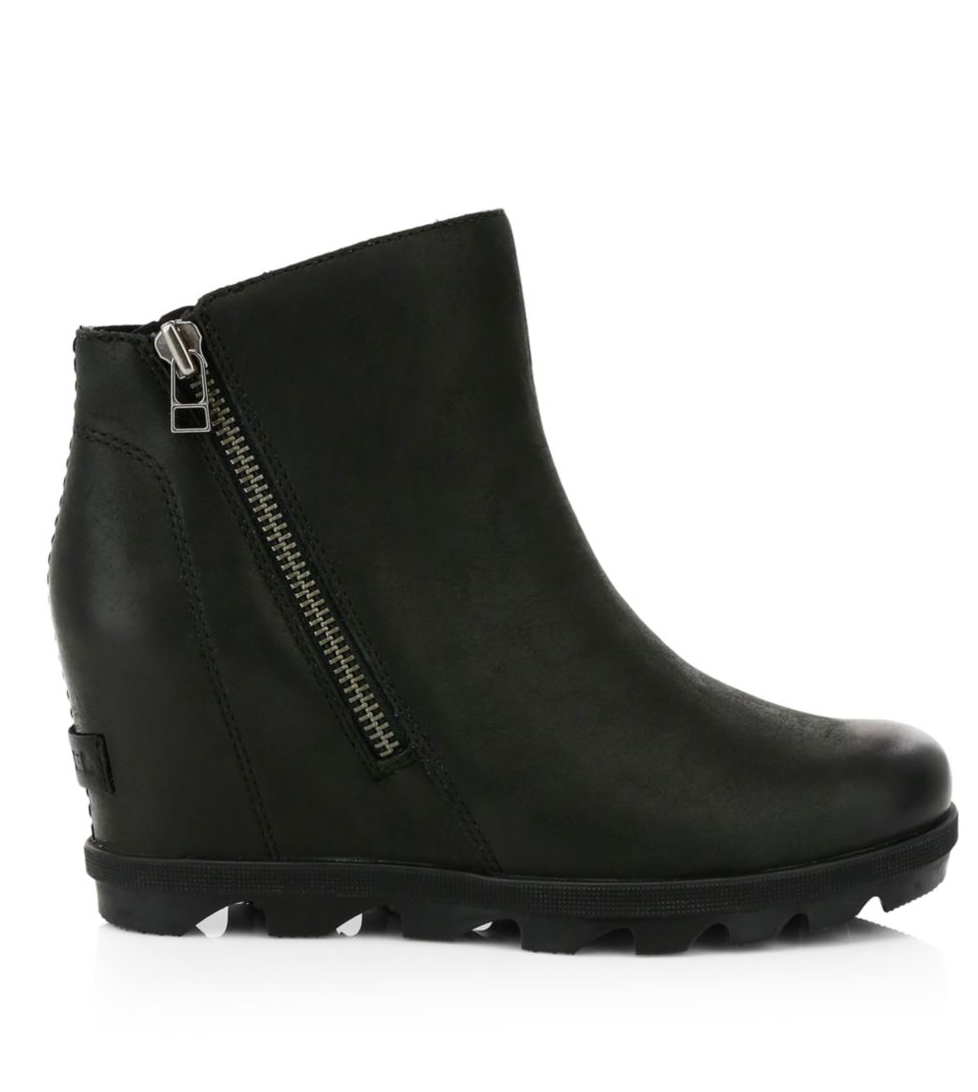 Sorel - Joan of Arctic Wedge - Zip Black