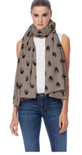 Load image into Gallery viewer, Skull Cashmere - Skull Linus Scarf