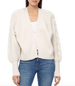 360 Cashmere - Mika Cardigan Sweater - Chalk