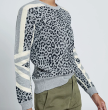 Load image into Gallery viewer, Current Elliott - Duvall Sweater - Gray/Black