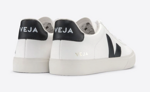 Veja - Men's Campo Leather Sneaker - White/Black