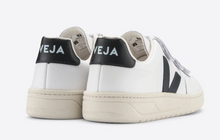 Load image into Gallery viewer, Veja - Leather V-Lock Sneaker - White/Black