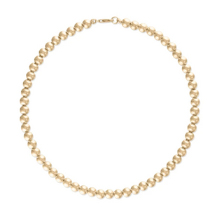 Alexa Leigh - 6mm Gold Ball Necklace