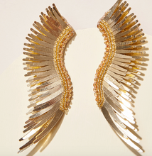 Load image into Gallery viewer, Mignonne Gavigan - Metallic Madeline Earrings - Yellow Gold