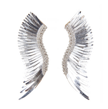 Load image into Gallery viewer, Mignonne Gavigan - Metallic Madeline Earrings - Silver